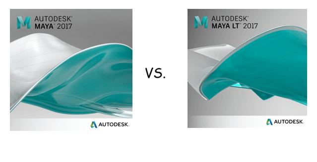 Autodesk – SO SÁNH MAYA VÀ MAYA LT