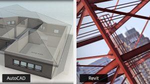So sánh Revit và AutoCAD