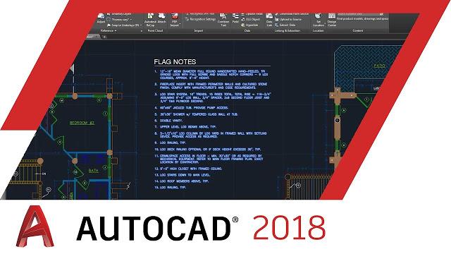 Tính năng Autocad 2018- những cải thiện tối ưu hỗ trợ người dùng
