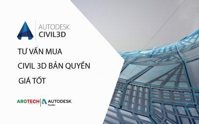 Tư vấn mua bán phần mềm Civil 3D bản quyền