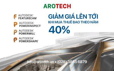Giảm giá lên tới 40% khi mua Autodesk thuê bao theo năm