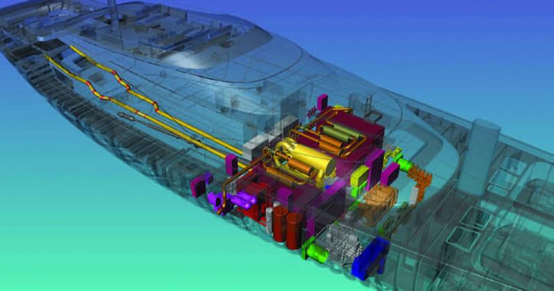 Royal Huisman phát triển tầm nhìn với AutoCAD P & ID