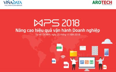 Sự kiện WPS : Nâng cao hiệu quả vận hành doanh nghiệp bằng WPS