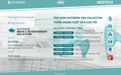 Sự kiện Ứng dụng Autodesk M&E trong ngành thiết kế và giải trí – Royal Hotel Saigon