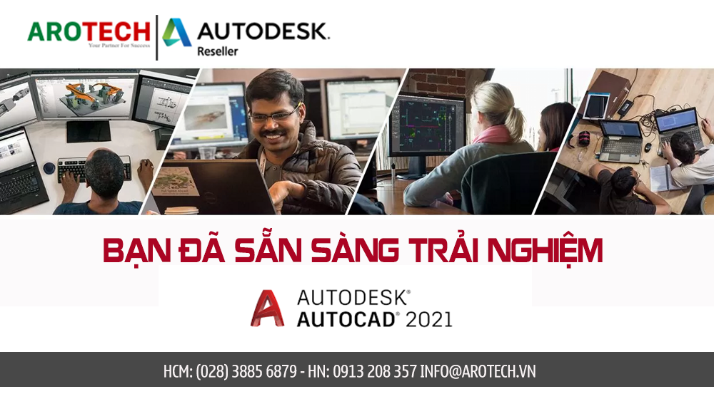 Bạn đã sẵn sàng trải nghiệm AUTOCAD 2021? Tìm hiểu ngay!